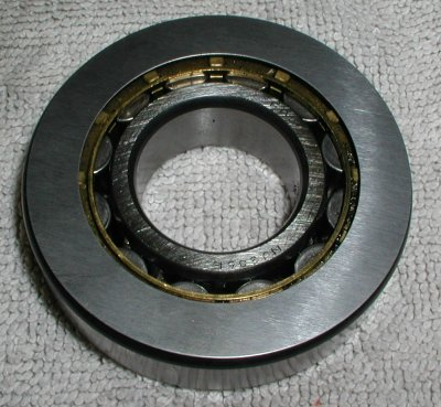 A shim on a bearing