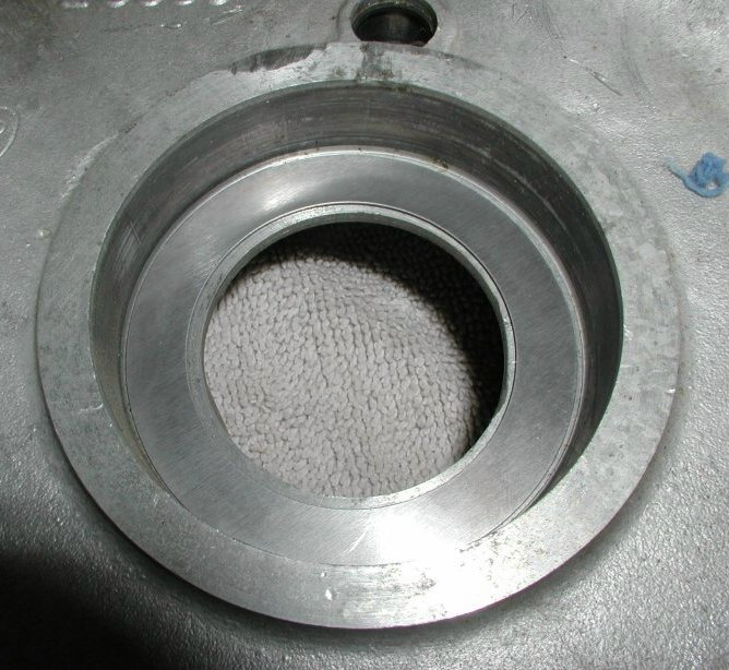 A shim in the crank case