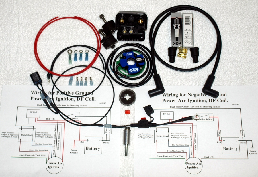 Complete Ignition System for the DF coil