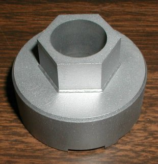 Top side of the discontinued Old britts socket