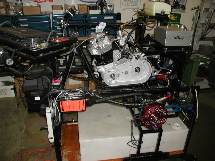 Old Britts Engine Dyno