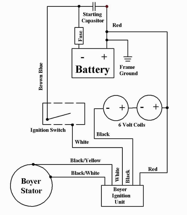 Boyer install on 1972 triumph bobber wiring schematic