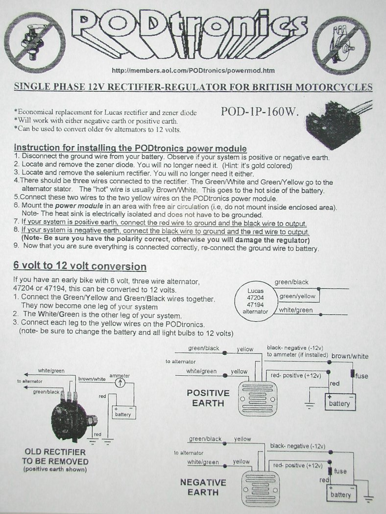 wiring diagram norton owners club website