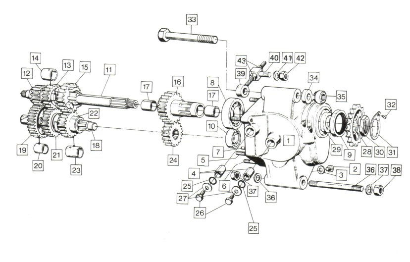 1973 g7 on exploded engine diagram